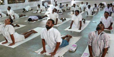 Indiska fångar friges i förtid om de klarar yogaprovet